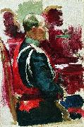 Study for the picture Formal Session of the State Council. Ilya Repin