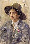 Portrait of the painter Isaak Izrailevich Brodsky Ilya Repin