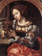 Lady Portrayed as Mary Magdalene Jan Gossaert Mabuse