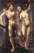 Adam and Eve Jan Gossaert Mabuse
