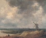 Windmill Jan van  Goyen