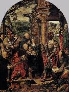 The Adoration of the Magi Joos van cleve