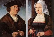Portrait of a Man and Woman Joos van cleve