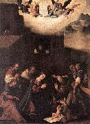 The Adoration of the Shepherds Lodovico Mazzolino