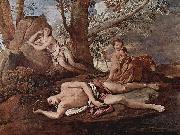 Echo and Narcissus Nicolas Poussin
