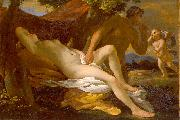 Jupiter and Antiope or Venus and Satyr Nicolas Poussin