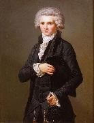 Portrait of Maximilien Robespierre Palace of Versailles