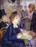 At the Cafe Pierre Auguste Renoir