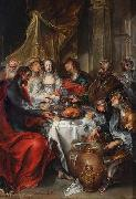 The Wedding at Cana. Simon de Vos