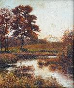 A Stream in Autumn Attributed to Jan de Beer
