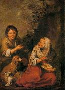 Old Woman and Boy Bartolome Esteban Murillo