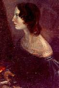 A portrait of Emily, by Branwell Branwell Bronte
