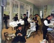 A Cotton Office in New Orleans Edgar Degas