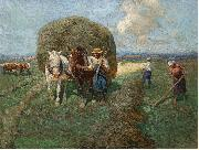 The hay card Franz Roubaud