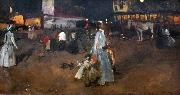 An Evening on the Dam in Amsterdam George Hendrik Breitner