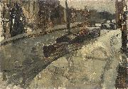 The Prinsengracht at the Lauriergracht, Amsterdam George Hendrik Breitner