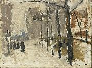 Cityscape in The Hague George Hendrik Breitner