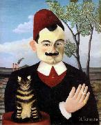 Portrait of Monsieur X (Pierre Loti) Henri Rousseau