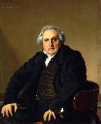 Portrait of Monsieur Bertin Jean Auguste Dominique Ingres