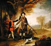 The Third Duke of Richmond out Shooting with his Servant Johann Zoffany