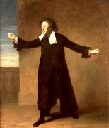 English Actor Charles Macklin as Shylock Johann Zoffany
