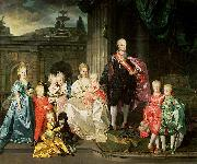 Grand Duke Pietro Leopoldo of Tuscany with his Family Johann Zoffany