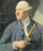 The Oboe Player Johann Zoffany