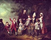 Family Portrait Johann Zoffany