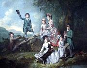 The Lavie Children Johann Zoffany