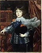 Portrait of Ferdinando de'Medici as Grand Prince of Tuscany (1610-1670) as a child (future Grand Duke of Tuscany) Justus Sustermans