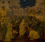 Adoration of the Magi LEONARDO da Vinci