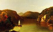 Setting Sail on a Lake in the Adirondacks Moore, Albert Joseph