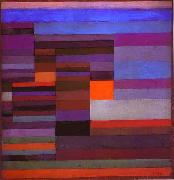 Fire in the Evening Paul Klee