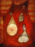 Oil and watercolor on cadboard Paul Klee