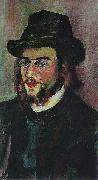 Portrait of Erik Satie Suzanne Valadon