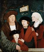 Portrait of the Cuspinian Family bernhard strigel