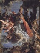 The Triumph of St.Augustine COELLO, Claudio