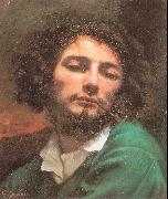 Self-Portrait (Man with a Pipe) Courbet, Gustave