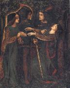 How They Met Themselves Dante Gabriel Rossetti