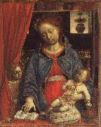 Madonna and Child with an Angel FOPPA, Vincenzo