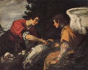 Tobias and the Angel Jacopo Vignali