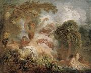 The Bathers Jean-Honore Fragonard