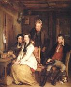 The Refusal from Burns's Song of 'Duncan Gray' Sir David Wilkie