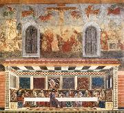 Last Supper and Stories of Christ's Passion Andrea del Castagno