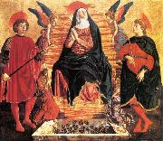Our Lady of the Assumption with Sts Miniato and Julian Andrea del Castagno
