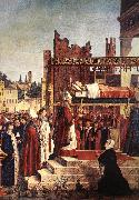 Martyrdom of the Pilgrims and the Funeral of St Ursula (detail) CARPACCIO, Vittore
