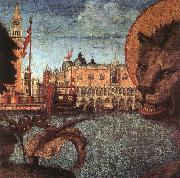 The Lion of St Mark (detail) CARPACCIO, Vittore