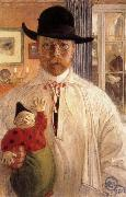 Self-Portrait Carl Larsson