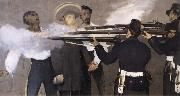 Details of The Execution of Maximilian Edouard Manet