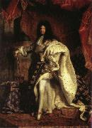 Louis XIV,King of France Hyacinthe Rigaud